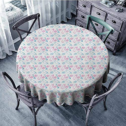 - HeKua Baby,Round Tablecloth D 36