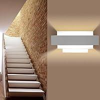 Lampara De Pared Moderna LED Apliques Luminarias Lámparas De Interior Pared Decorativa para Sala De Estar Dormitorio Pasillo Teatro Estudio Restaurante Hotel Pasillo