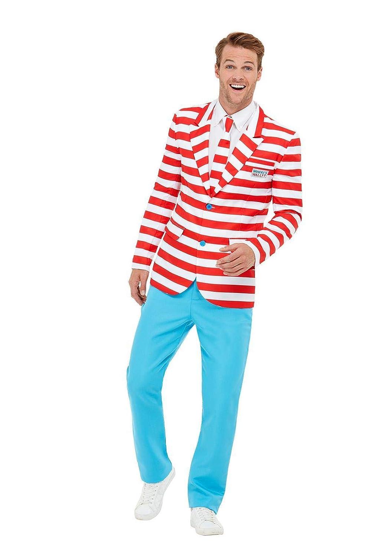 Con 100% de calidad y servicio de% 100. Smiffys 50268XL - - - Traje de neopreno para hombre, Talla XL, Color rojo y blanco L - Talla 42 -44   connotación de lujo discreta