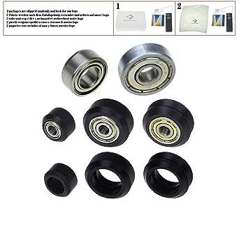 CNC Rueda de plástico MR105ZZ 625ZZ Impresora 3D partes POM V-slot ...