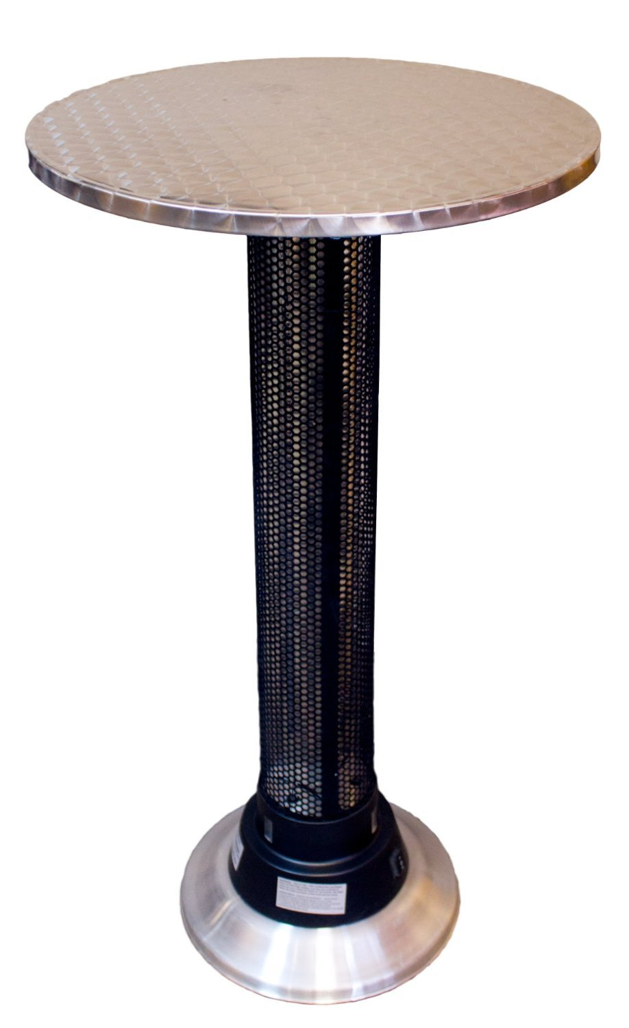 Premium Bar Table for Patio Outdoor Pool in Modern Round Heater Top Contemporary Furniture Design