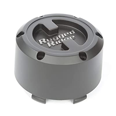 Rugged Ridge 15201.55 Black Center Cap for XHD Wheel: Automotive