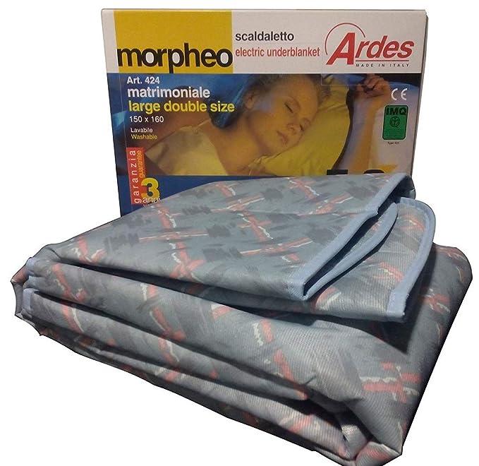 150 opinioni per Ardes Medicura AR424 Termocoperta Scaldaletto Matrimoniale Morpheo 100%