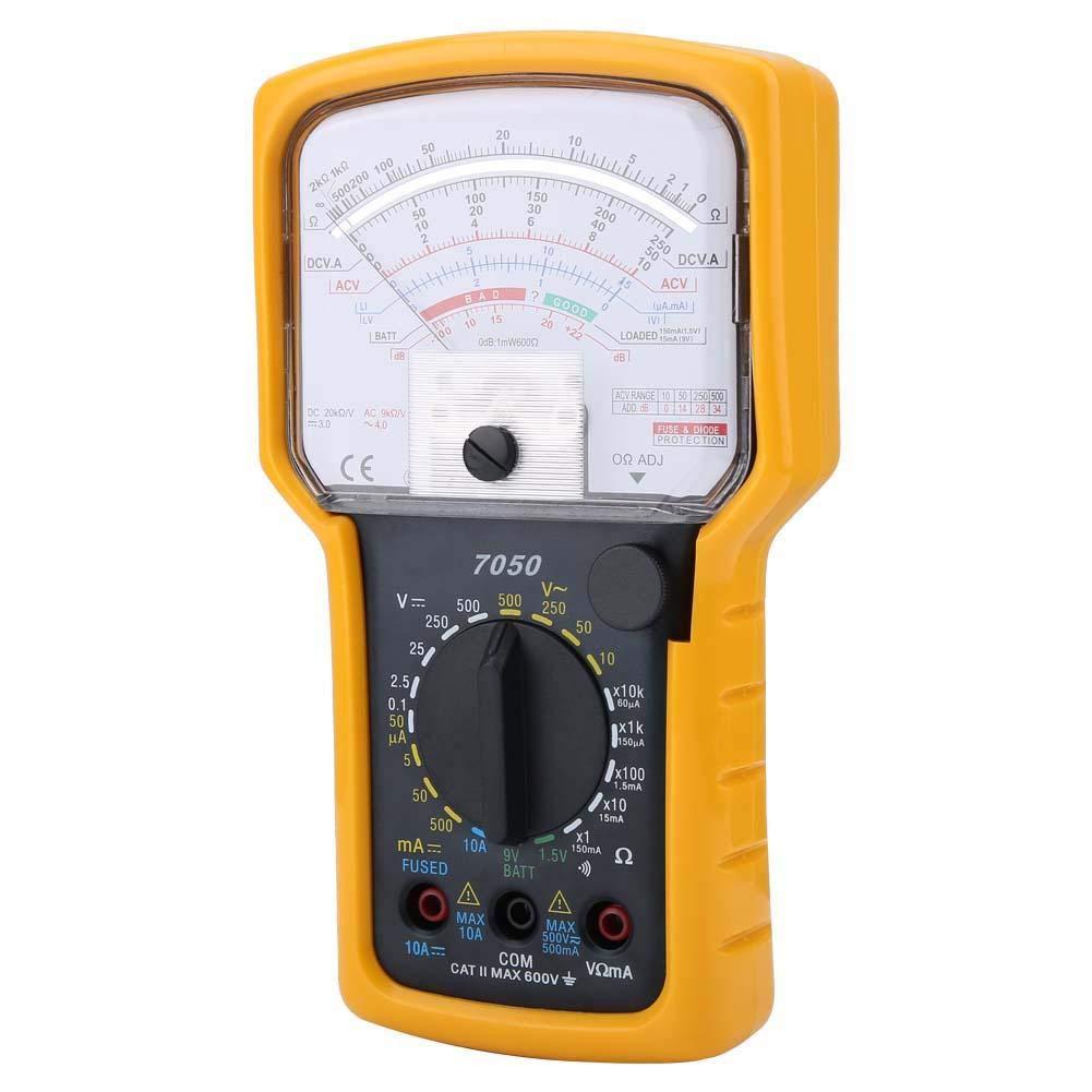Digital Analog Multimeter Multifunction High Sensitivity High Precision Ohm Test Meter Analog Multimeter