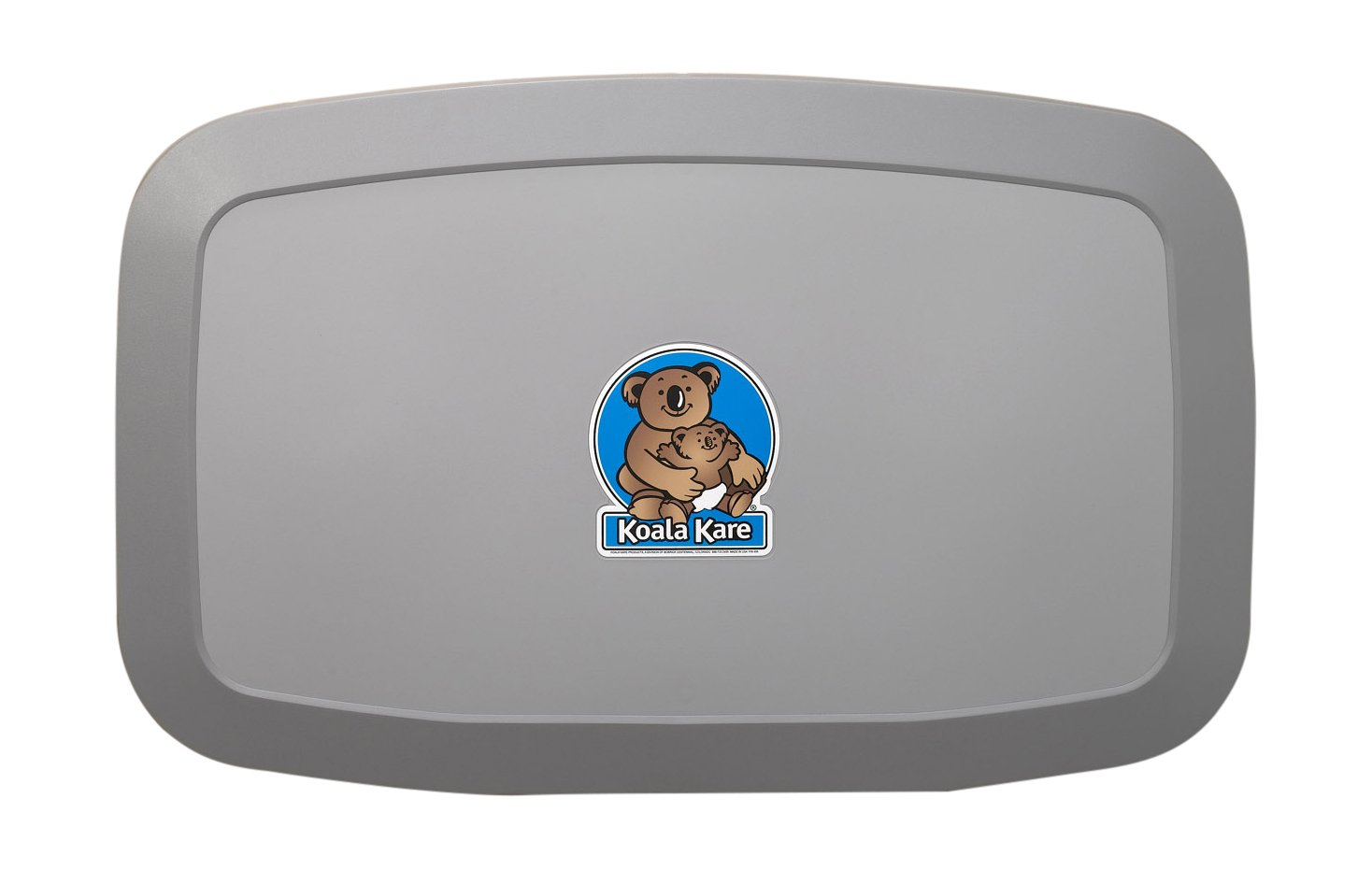 Koala Kare KB200-01 Horizontal Wall Mounted Baby Changing Station, Grey