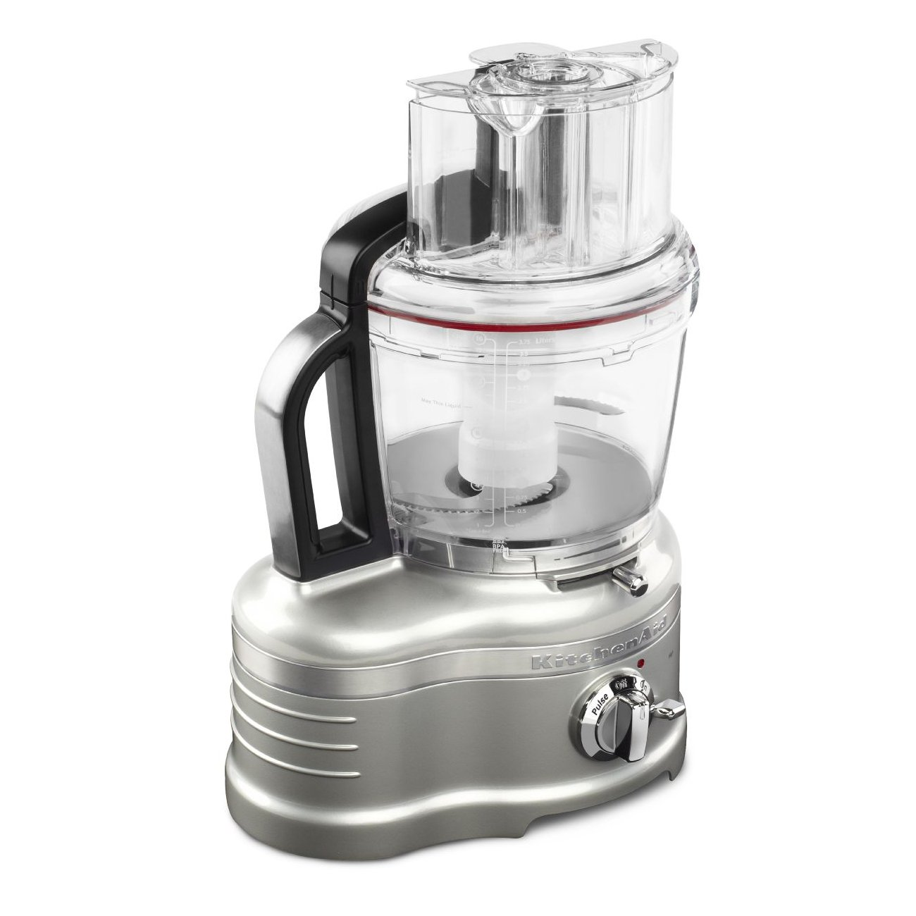 KitchenAid Pro Line Food Processor Sugar Pearl Silver KFP1642SR