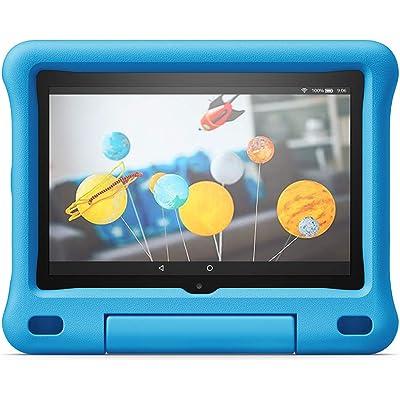 Funda infantil para tablet Fire HD 8 (compatible con la 10.ª generación, modelo de 2020), azul