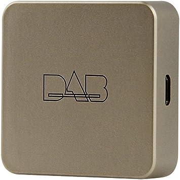 Docooler DAB Box Transmisor de antena de radio digital Transmisión de FM alimentado por USB para radio de auto Android 5.1 y superior (solo para países que tienen señal DAB): Amazon.es: Electrónica