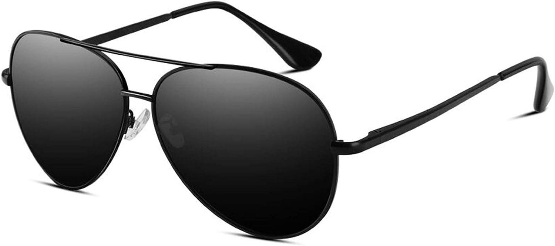 VVA Sonnenbrille Herren Pilotenbrille Polarisiert Pilotenbrille Polarisierte Sonnenbrille Herren Pilot Unisex UV400 Schutz durch V101(Schwarz/Schwarz): Amazon.de: Bekleidung - Flieger Sonnenbrille