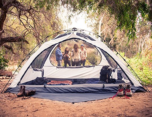 Amazon.com  Lightspeed Outdoors Vermont 4 Person Star Gazing C&ing Tent  Sports u0026 Outdoors & Amazon.com : Lightspeed Outdoors Vermont 4 Person Star Gazing ...
