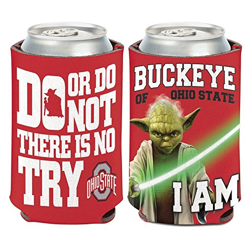 (WinCraft NCAA Ohio State University 15797215 Can Cooler, 12 oz)