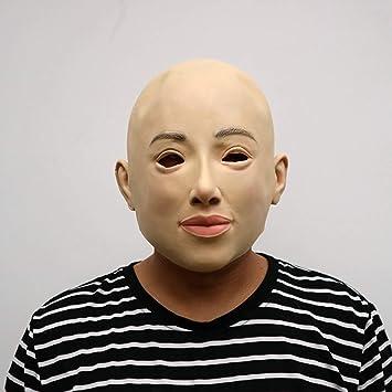 Máscara de Halloween Máscara de Terror de Látex Máscara de Cerdo Máscara Marshmello para Fiesta de