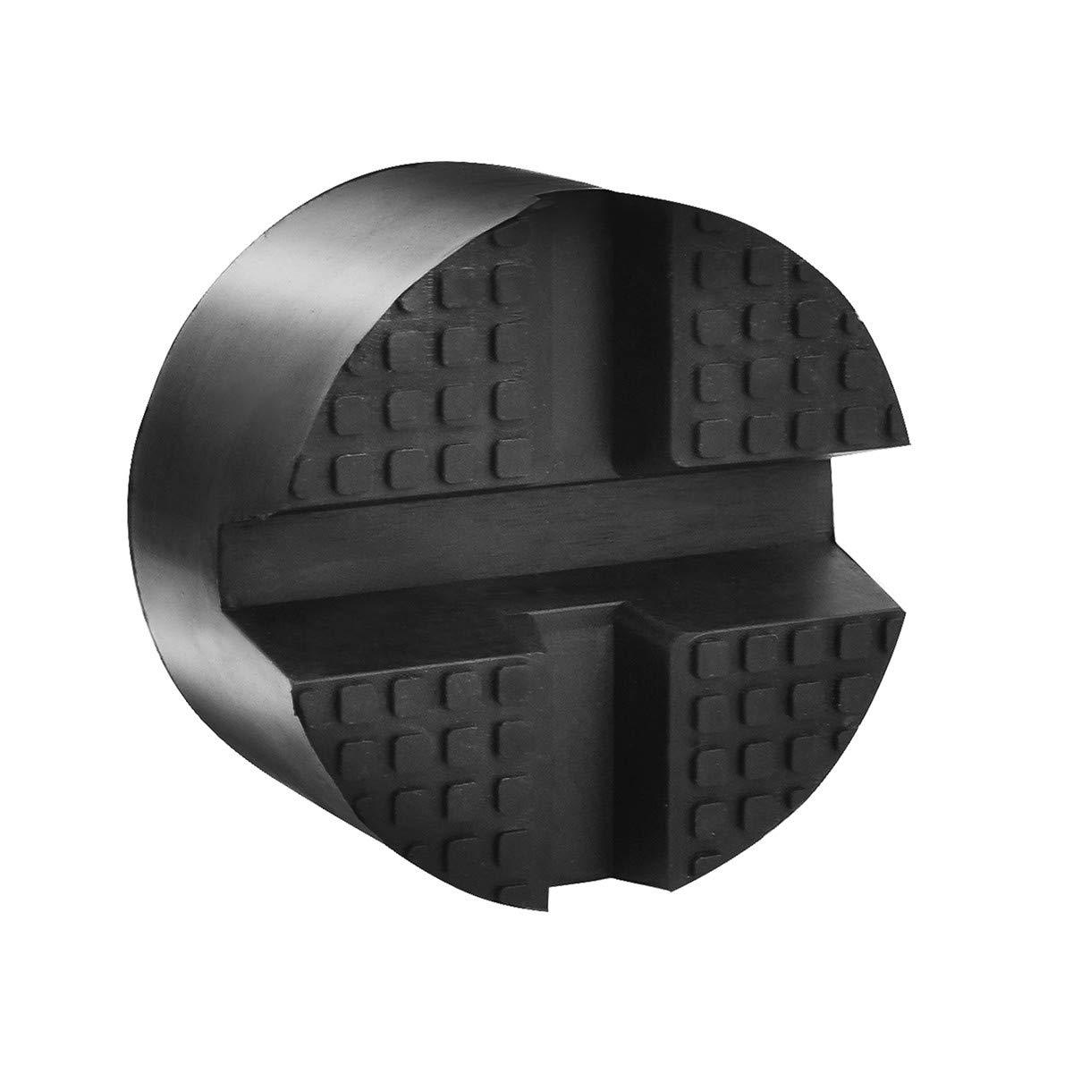 Adaptateur Coussinet Protection Bas de Caisse de Voiture Outil Accessoire pour Crics de Levage DEDC Jack Pad Bloc de Cric en Caoutchouc