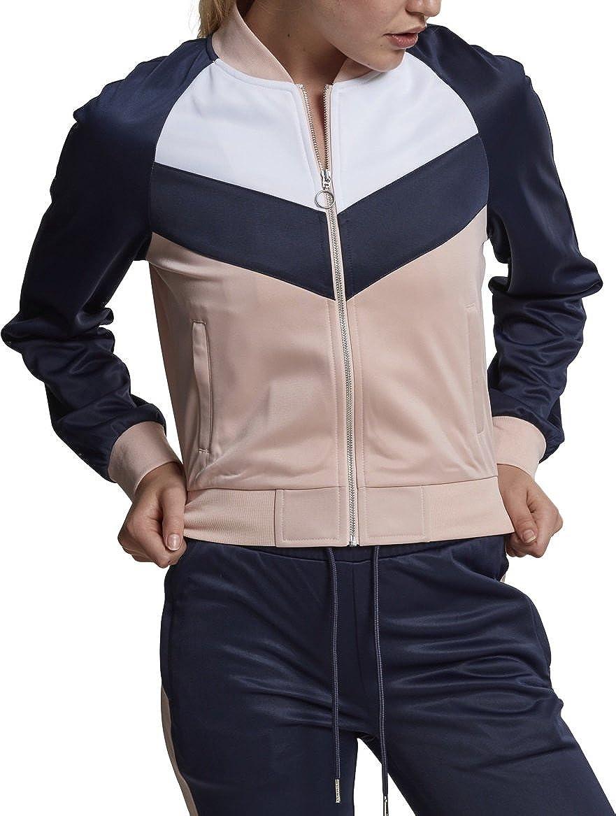 Urban Classics Ladies Short Raglan Track Jacket, Giacca Sportiva Donna TB1856