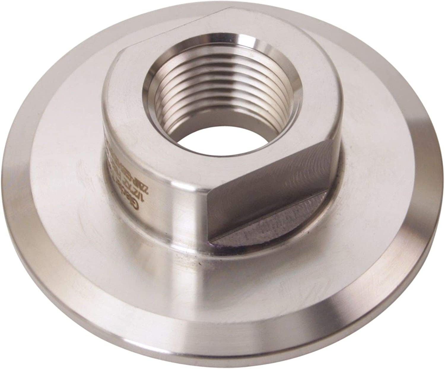 - Stainless Steel SS304 Tri Clamp 2 inch x FNPT 1//2 in NPT Adapter Short Glacier Tanks