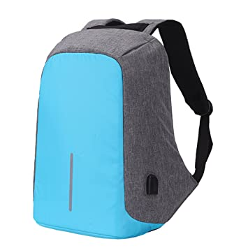 Pmallcity Anti Theft Laptop Backpack, Business Water Resistant Laptop Bag with USB Charging Port,