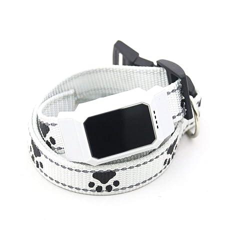 LoveOlvido D35 - Sistema de rastreador de mascotas GSM GPS impermeable para gatos, perros,