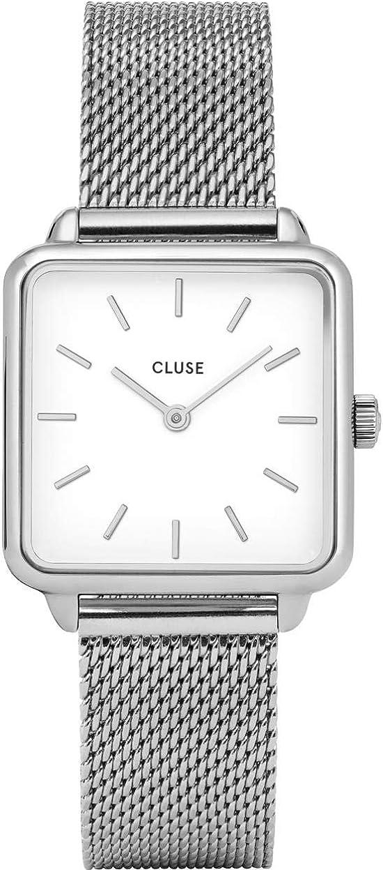 CLUSE Reloj Analógico para Mujer de Cuarzo con Correa en Acero Inoxidable CL60001