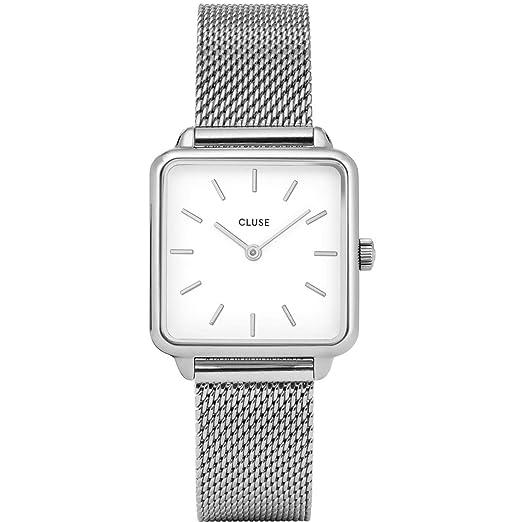 Amazon.com: CLUSE LA TÉTRAGONE CL60001 - Reloj de pulsera ...
