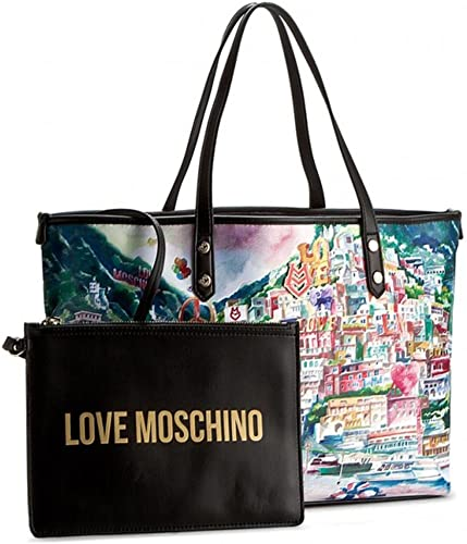 borsa love moschino 2017 con stampa