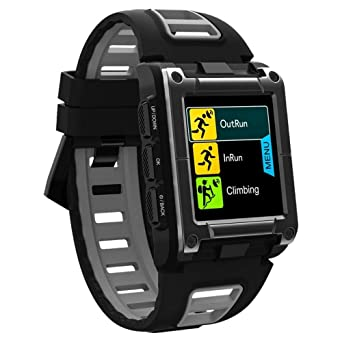 OSYARD Montre Connectée Bracelet Intelligent de GPS Bluetooth Montre de Natation Ip68 ImperméAble Professionnel