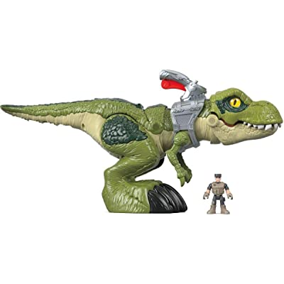 Imaginext Fisher-Price Jurassic World Mega Mouth T.rex: Toys & Games