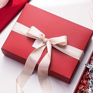 Caja de regalo Rectangular Cumpleaños Embalaje grande Papel ...