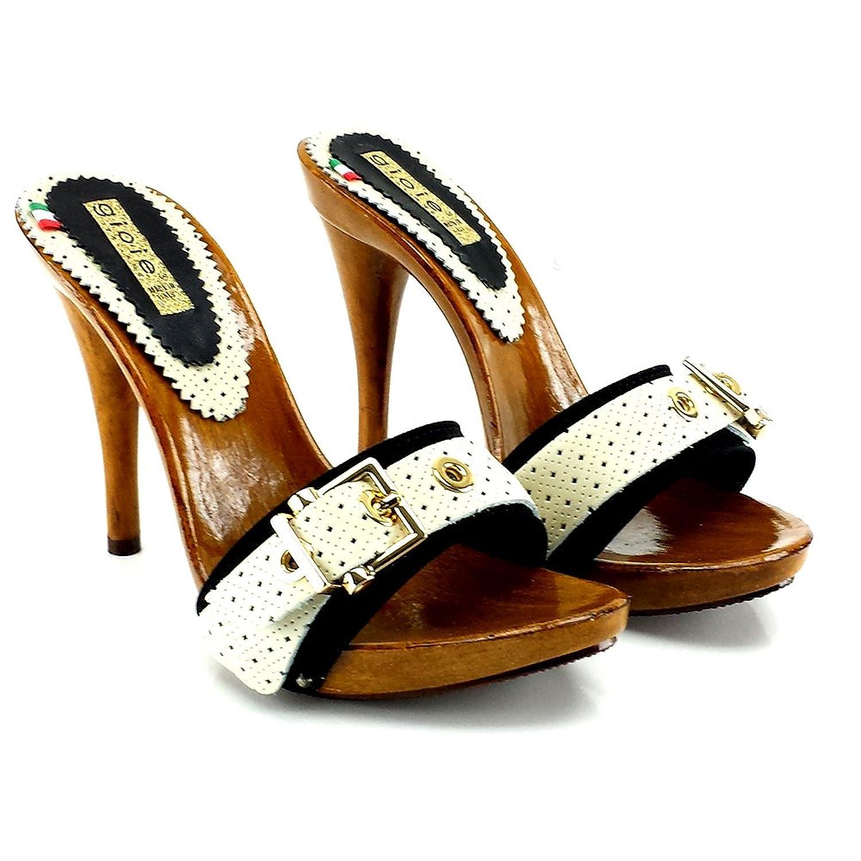 kiara shoes Tommy Nero - Zuecos de Lona para mujer negro negro 37 TOMMY NERO 41