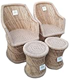Ecowoodies HandiCraft Cane Furniture Set
