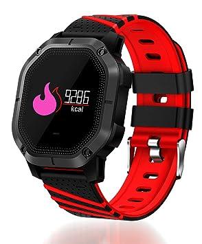 Cebbay Reloj Inteligente Impermeable Deporte Fitness Correr Rastreador de frecuencia Cardiaca Reloj led Reloj electronico: Amazon.es: Electrónica