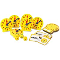 Learning Resources LER3214 Time Small Group Activity Set of 6
