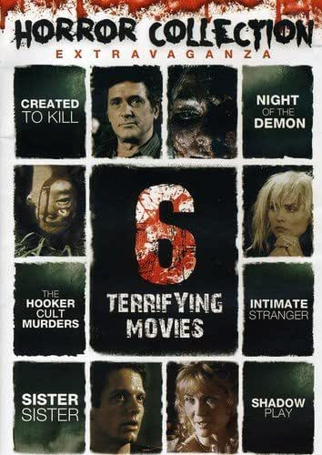 Horror Collection Extravaganza: 6 Terrifying Movies