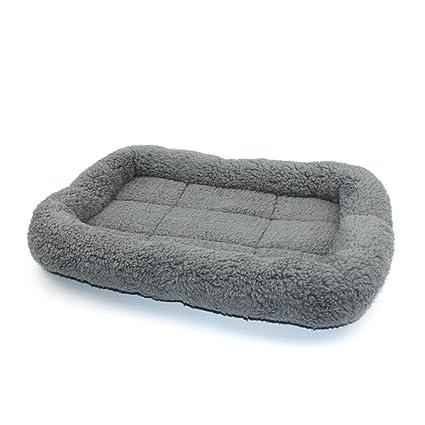 UEETEK Camas de manta para mascotas Manta suave y cálida para cachorros, Colchón para gatitos