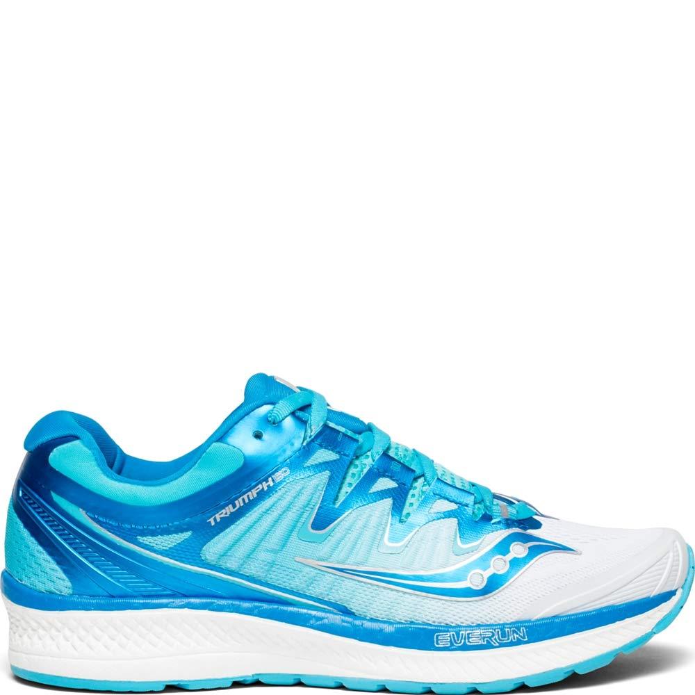 Saucony Women s Triumph ISO 4 Sneaker, White Blue, 090 M US