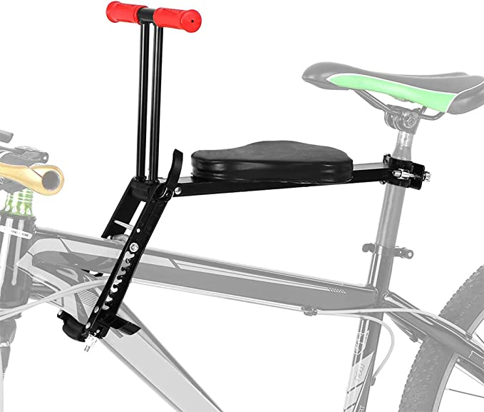 Safety Child Baby Kids Bike Bicycle Seat Front Carrier With Safe Foot Pedals