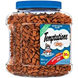 #10: TEMPTATIONS Classic Treats for Cats Savory Salmon Flavor 30 Ounces; With Our Mouthwatering Menu We Have a Flavor For Every Feline