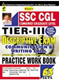 SSC CGL Tier-III Descriptive Exam Practice Work Book - 2035