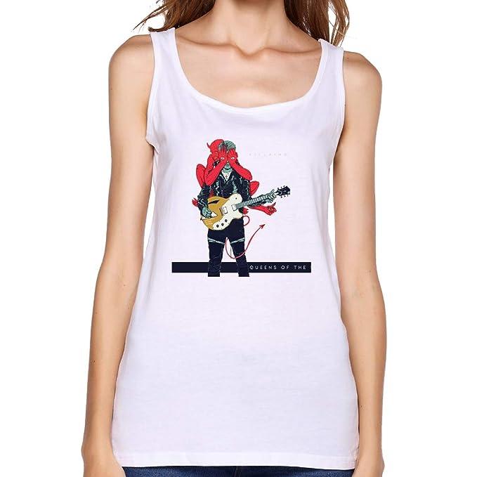 Amazon.com: Queens of The Stone Age Villains - Camiseta sin ...