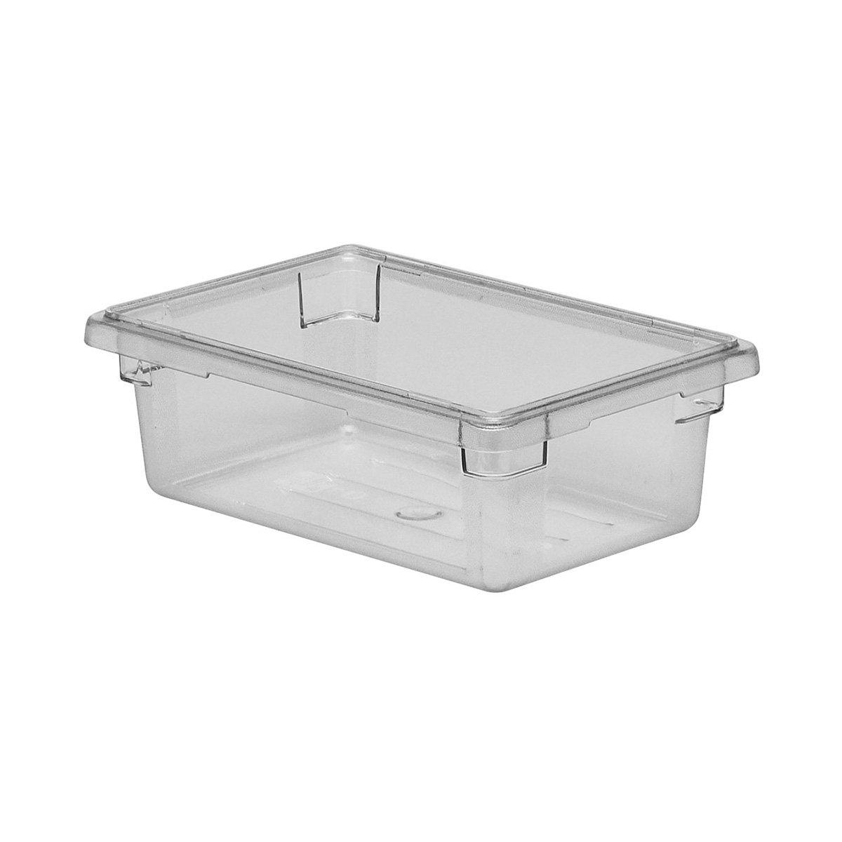 Cambro 12186CW135 Clear Food Box 12'' x 18'' x 6'' Camwear, 6 Pack