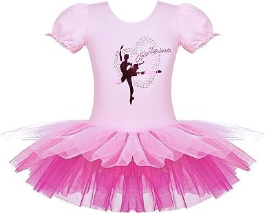Agoky Vestido de Tutú Ballet Danza Leotardos de Ballet para Niñas ...