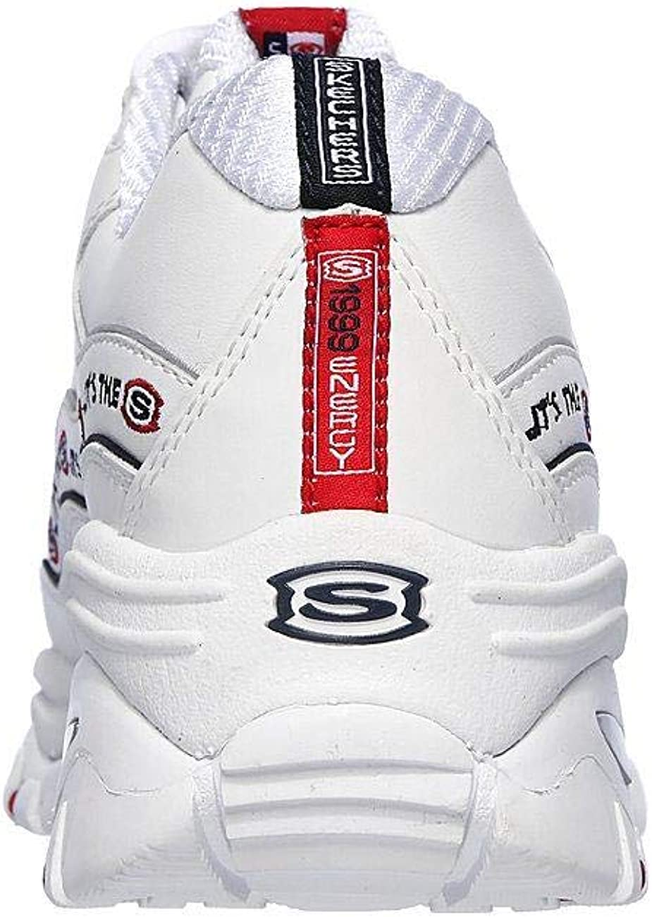 SKECHERS ENERGY DYNASTY LINXE WHITE NAVY RED
