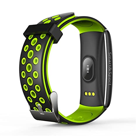 Xinan Reloj Inteligente Bluetooth Pantalla táctil Sport Phone Mate para iOS Android para iPhone (❤️Verde): Amazon.es: Relojes