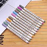 vaporizer micro g - YJYdada 10x Metallic Pencil Set Marker Album Sketch Water Color Marker Brush Pen