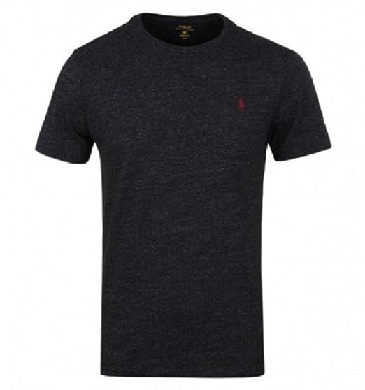 Ralph Lauren Polo Men s T-Shirt Standard Fit Crew Neck Tee  Amazon.co.uk   Clothing b69755ee7375