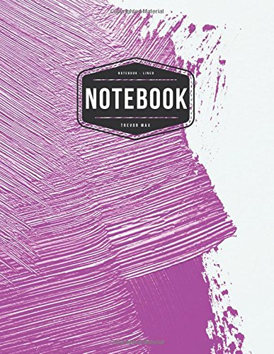 """Notebook: Pink paint on the wall : Book :  Diary, 120 pages, 8.5"""" x 11"""" (Notebook Lined,Blank No Lined) pdf epub"""
