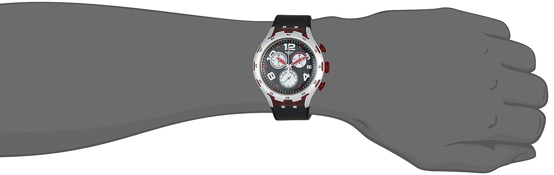 Amazon.com: Swatch Mens YYS4004 Irony Analog Display Swiss Quartz Black Watch: Swatch: Watches