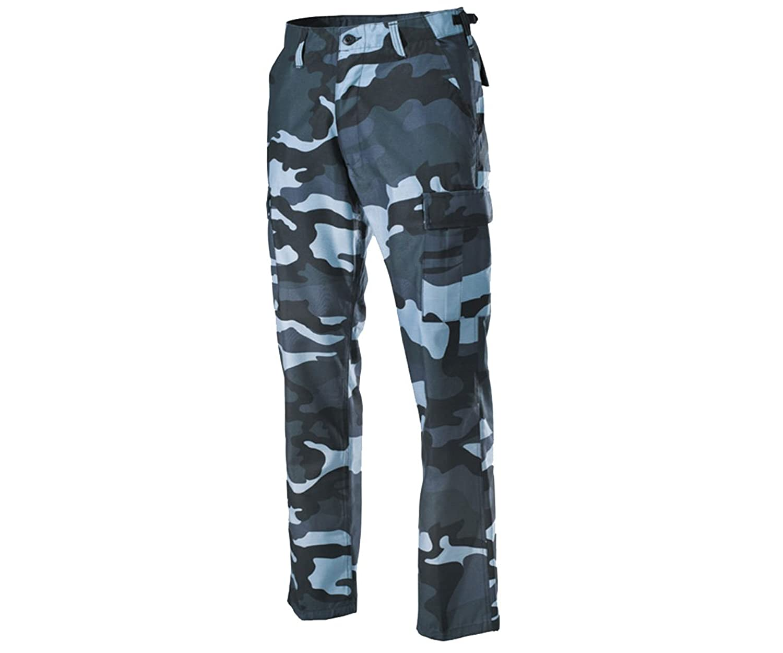 Coka-Tex Men's Cargo Trousers blue blue XXL