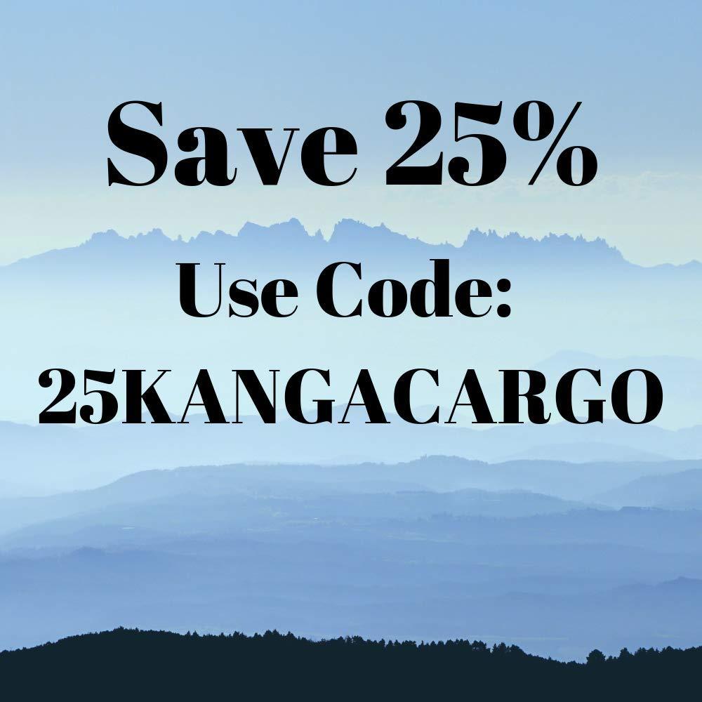 Kanga Hurricane Waterproof Vinyl Rooftop Cargo Carrier Storage Bag Made in The USA Universal Fit