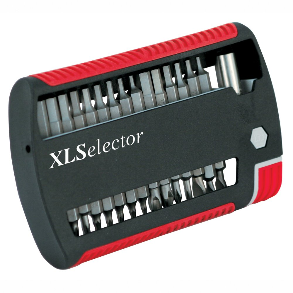 Wiha 79495 31-Piece XLSelector Bit Set with Slotted Phillips TORX Hex Bits by Wiha