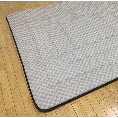 正方形こたつ用敷布団(ラグ/カーペット) 190×190サイズ クレタ ベージュ色   B075W624MX